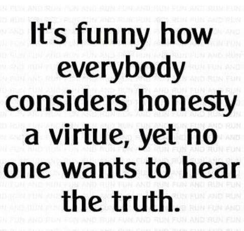The unwanted truth