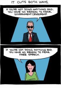 the truth about truth and censorship